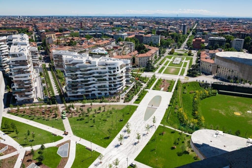 piazza tre torri – Недвижимость в районах Милана