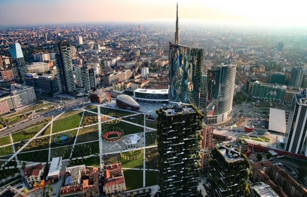 vertikalny les 1 – Недвижимость в районах Милана
