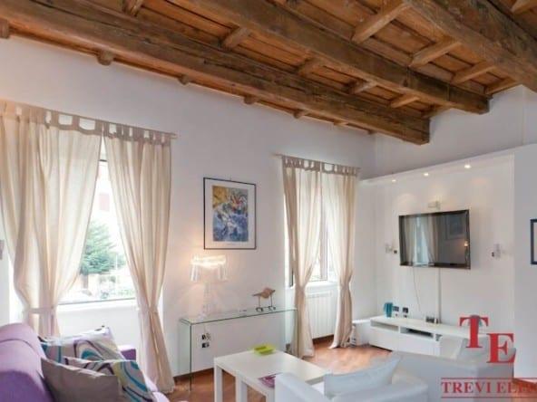 Апартаменты в районе Трастевере • Недвижимость Италии