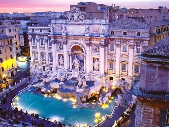 4* отель рядом с фонтаном Треви | Недвижимость Италии