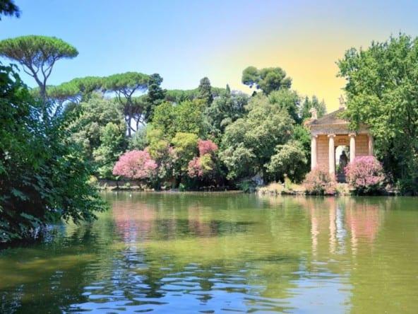 Отель рядом с парком Вилла Боргезе • Недвижимость Италии