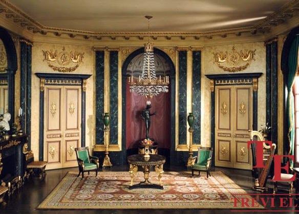 Квартира в Риме (Париоли), стиль Ампир | Недвижимость Италии