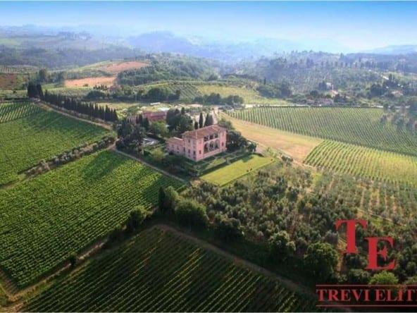 """Вилла с виноградником Кьянти • Агентство недвижимости в Италии """"Треви Элит"""""""