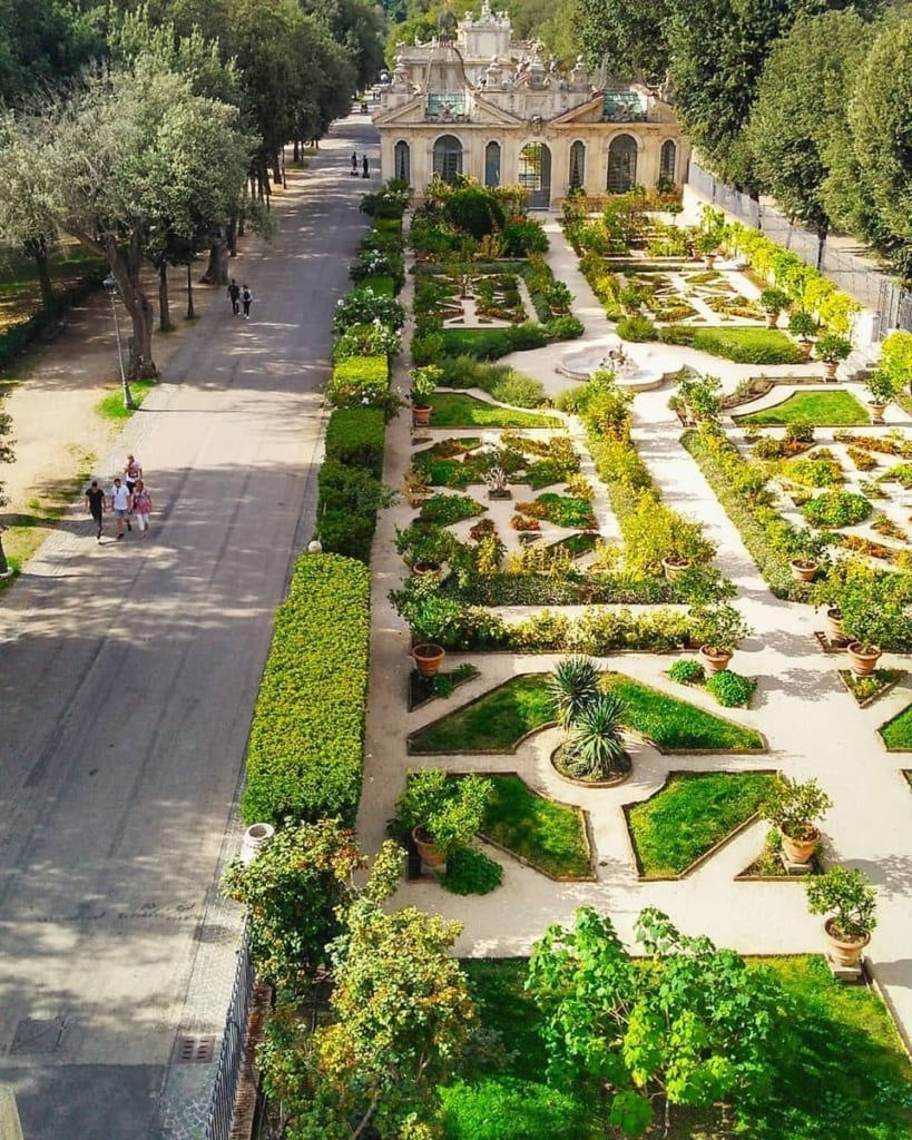 sad villy borgeze – Париоли - престижный район Рима