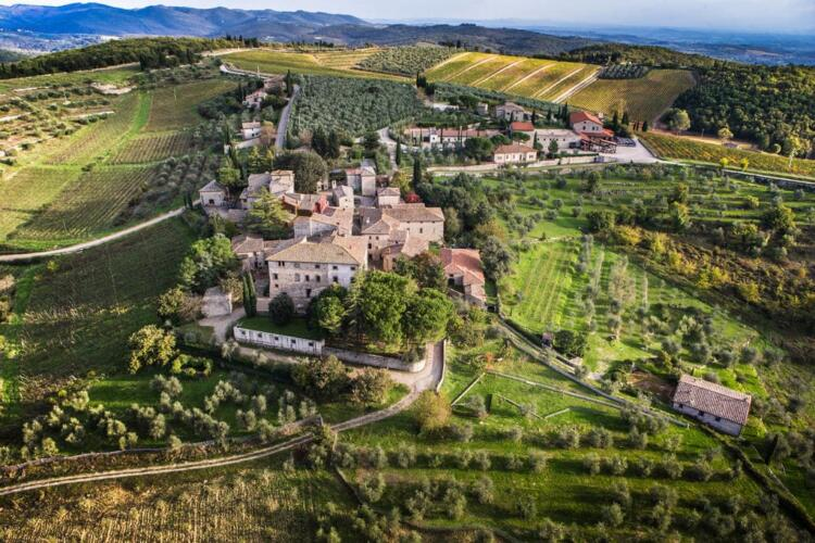 Вилла в долине Кьянти • Недвижимость Италии