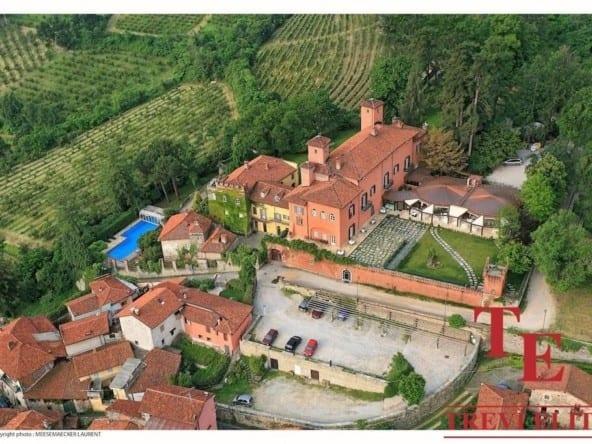 Замок (отель, гостиница) в Пьемонте • Недвижимость Италии