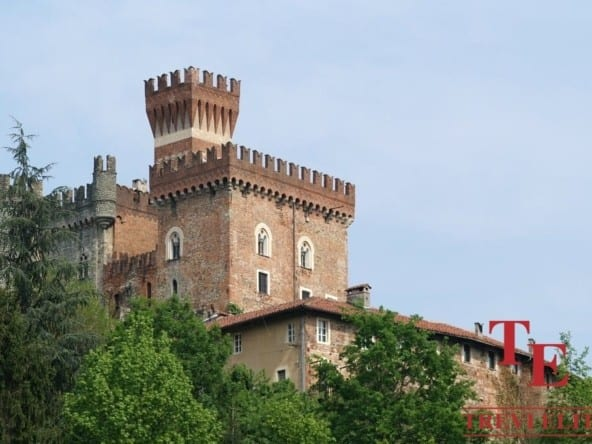 Замок в Пьемонте • Недвижимость Италии