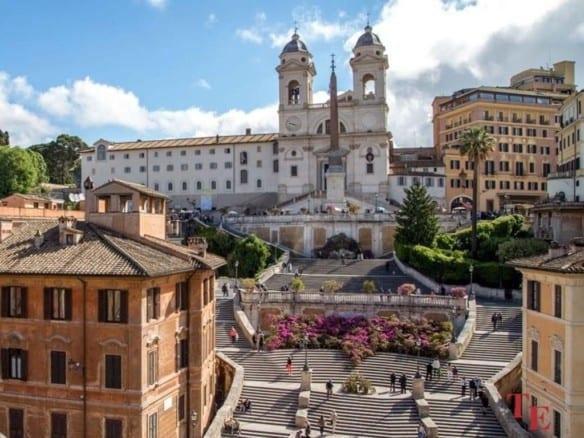 Бутик-отель рядом с площадью Испании • Недвижимость Италии