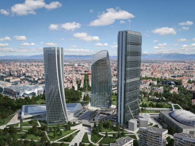 Пятикомнатная квартира в City Life • Недвижимость Италии