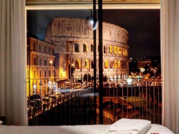 Квартира с видом на Колизей • Недвижимость Италии