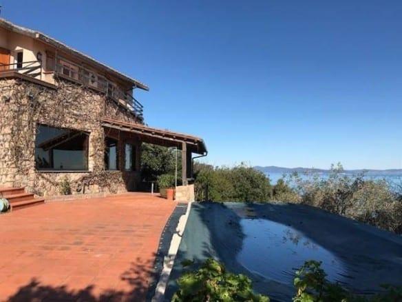 Вилла с видом на море в Тоскане • Недвижимость Италии