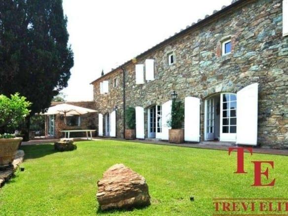 Вилла с видом на Тирренское море • Недвижимость Италии