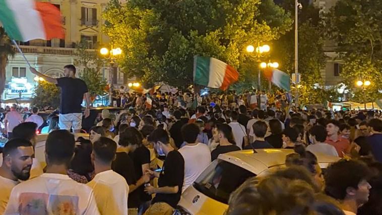 Евро-2020, Италия - чемпион Европы: празднования на улицах Рима | Недвижимость Италии