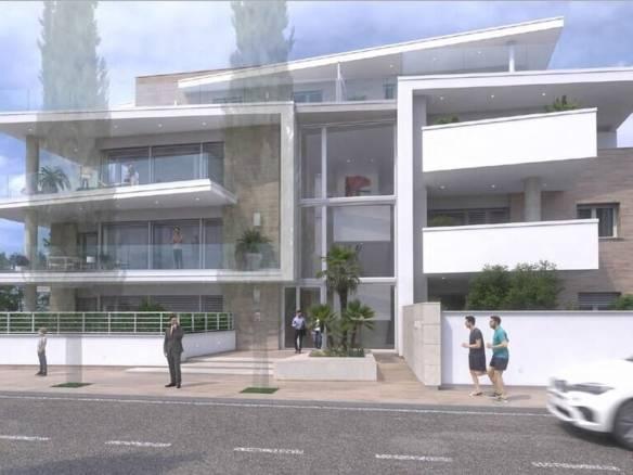 Новый современный комплекс в Риме, в резиденциальном районе Инфернетто | Недвижимость Италии